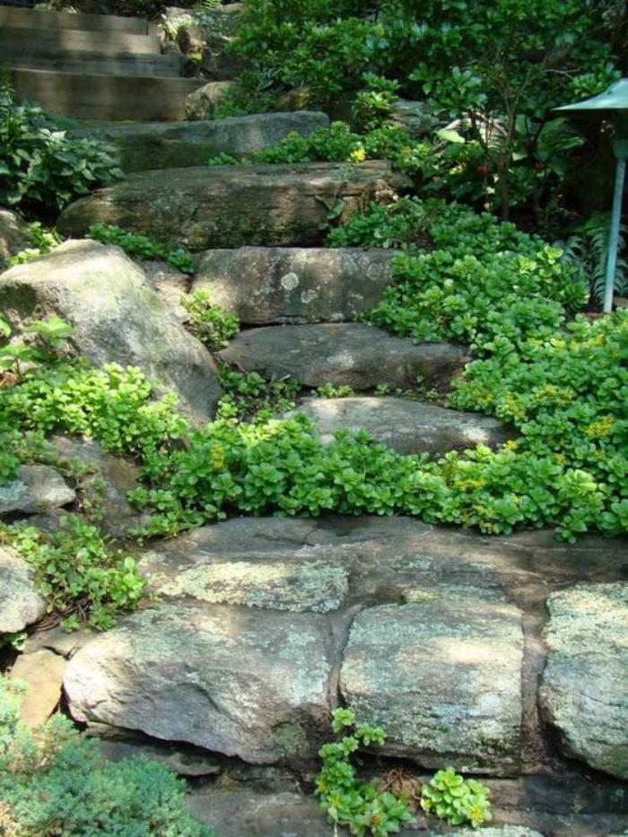 Comment avoir un joli jardin en pente? Jolies idées en ...