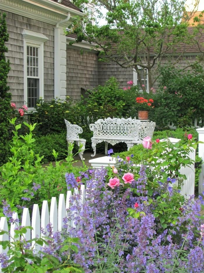 Decorations De Jardin Avec Des Pots De Fleur