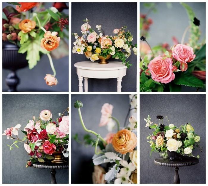 jolie-composition-florale-centre-de-table-belle