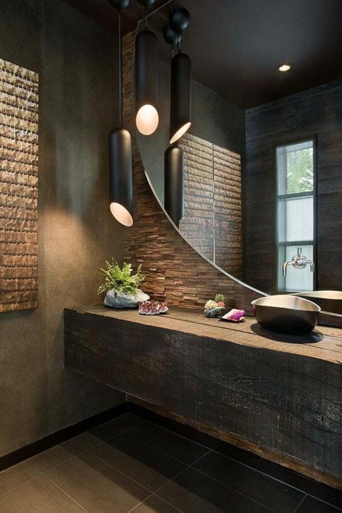 Quelle couleur salle de bain choisir 52 astuces en photos - Sol salle de bain bambou ...
