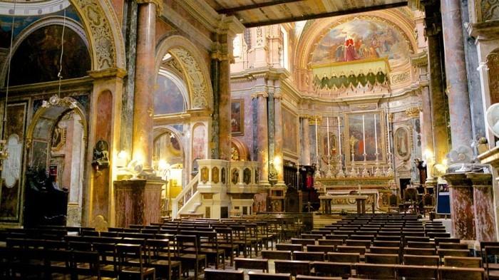 jolies-vues-de-lavalette-malte-la-mer-les-cités-église-saint-paul