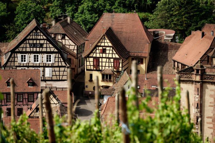 la-route-des-vins-d'Alsace-hôtel-de-charme-à-Ribeauvillé