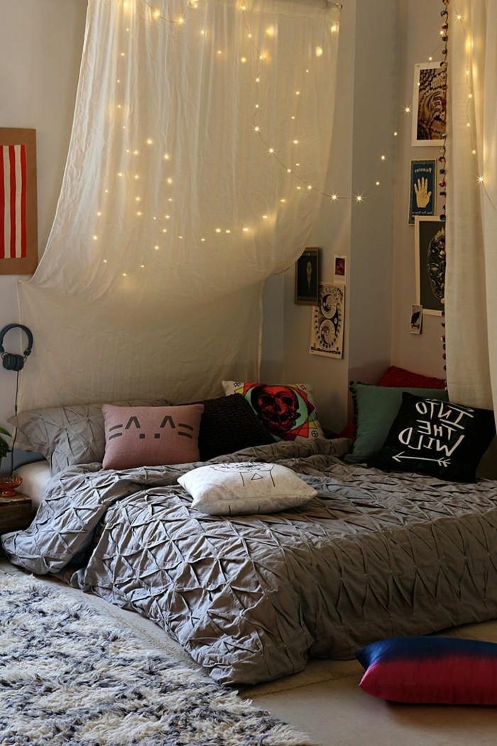 Les meilleures id es pour cr er votre dosseret de lit illumin - Chambre avec tete de lit ...
