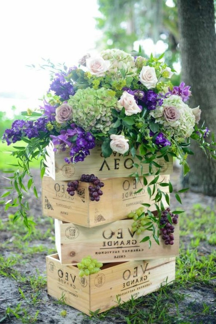 Deco jardin a faire soi meme decorating ideas - Centre de table a faire soi meme ...
