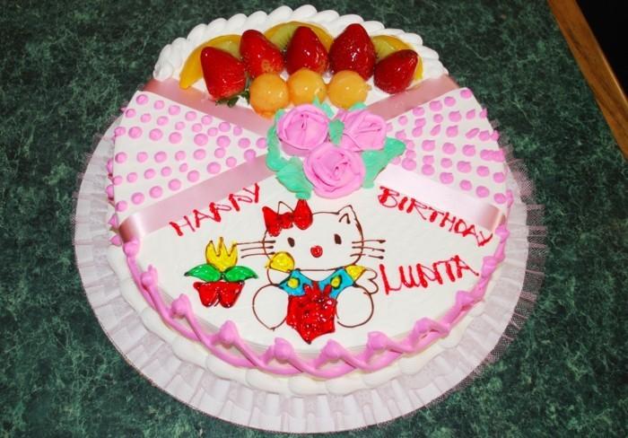 le-gâteau-d-anniversaire-enfants-délicieux-hello-kitty