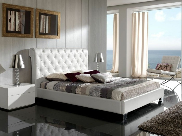 tete de lit capitonnee cuir blanc 28 images lit coffre. Black Bedroom Furniture Sets. Home Design Ideas