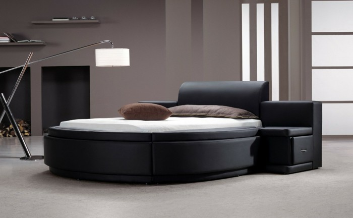 latest with lit rond noir. Black Bedroom Furniture Sets. Home Design Ideas