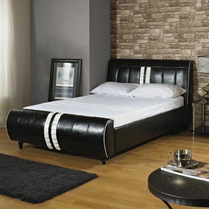 lit-en-cuir-noir-tete-de-lit-en-cuir-tete-de-lit-capitonnée-lit-design-180x200-lit-en-cuir