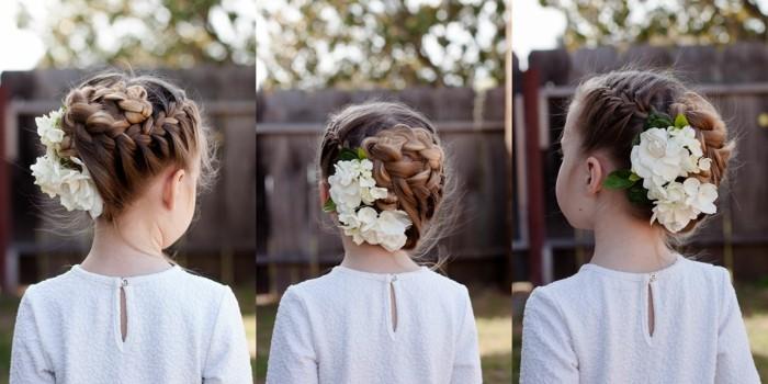 magnifique-coiffure-mariage-fille-idées-différents-options
