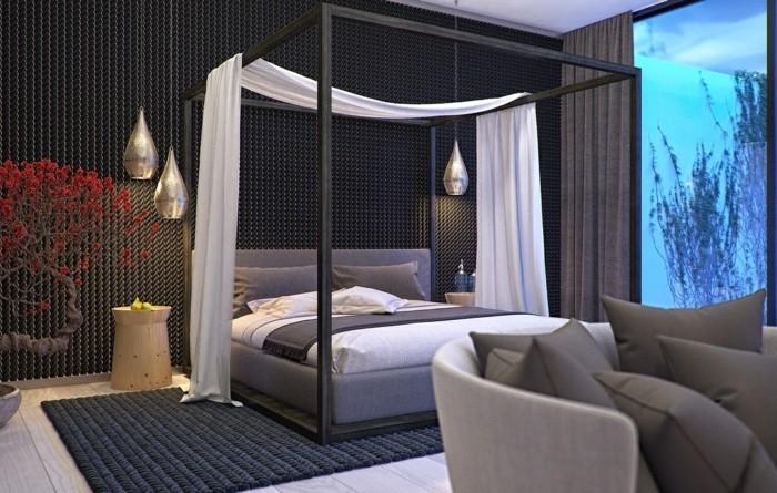 cr er la plus styl e chambre zen beaucoup d 39 id es et d. Black Bedroom Furniture Sets. Home Design Ideas