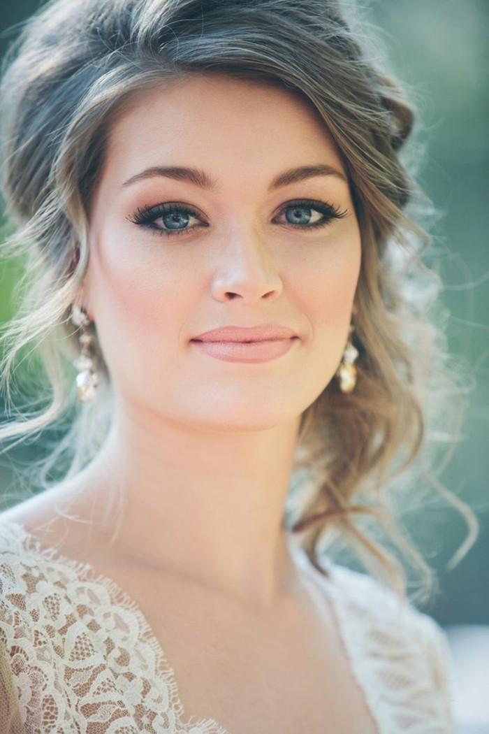Le maquillage de soir e 55 id es qui vont vous charmer - Maquillage simple mais beau ...