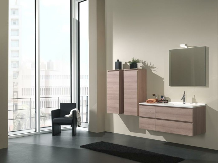 petit meuble mural salle de bain maison design. Black Bedroom Furniture Sets. Home Design Ideas
