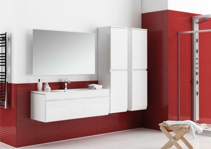 Meuble mural de salle de bain id es de for Meuble mural salle de bain