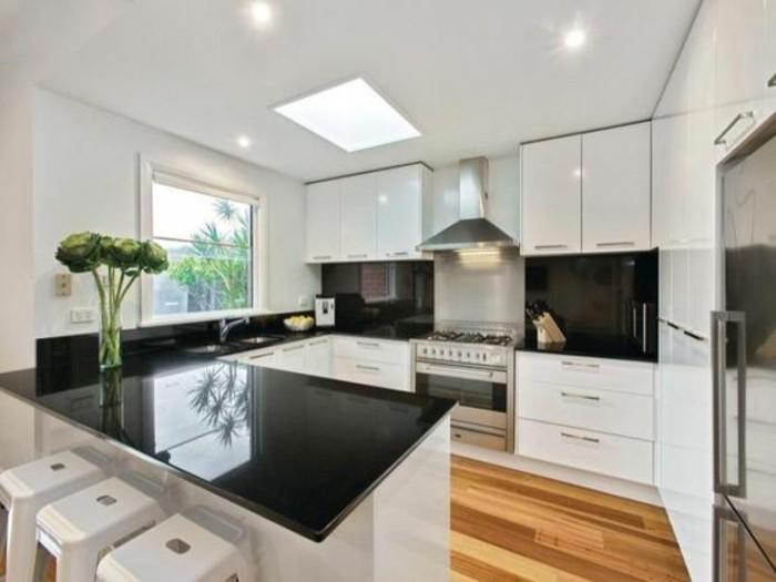 cuisine en u avec fenetre ah64 jornalagora. Black Bedroom Furniture Sets. Home Design Ideas