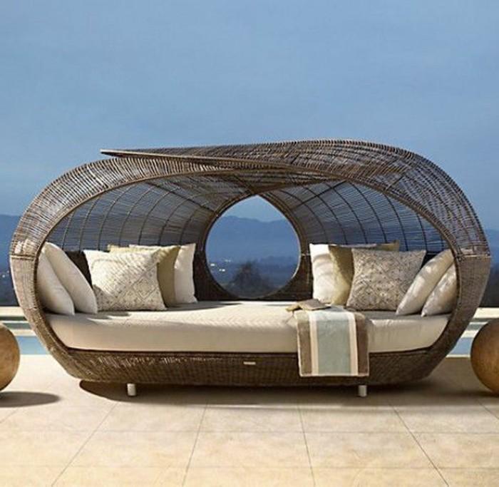 le salon de jardin en r sine tress e en 52 photos. Black Bedroom Furniture Sets. Home Design Ideas