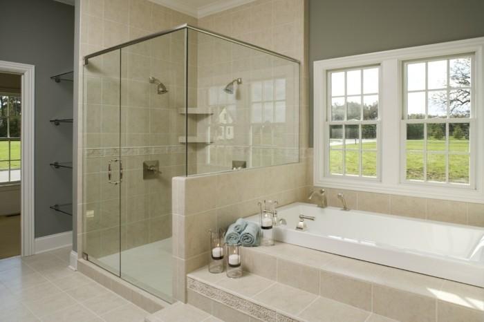 Très Modèle douche à l'italienne - 74 idées pour l'aménager - Archzine.fr NV71