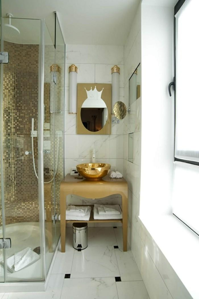 Charmant modele de salle de bain avec douche a l italienne for Modeles de salle de bains avec douche
