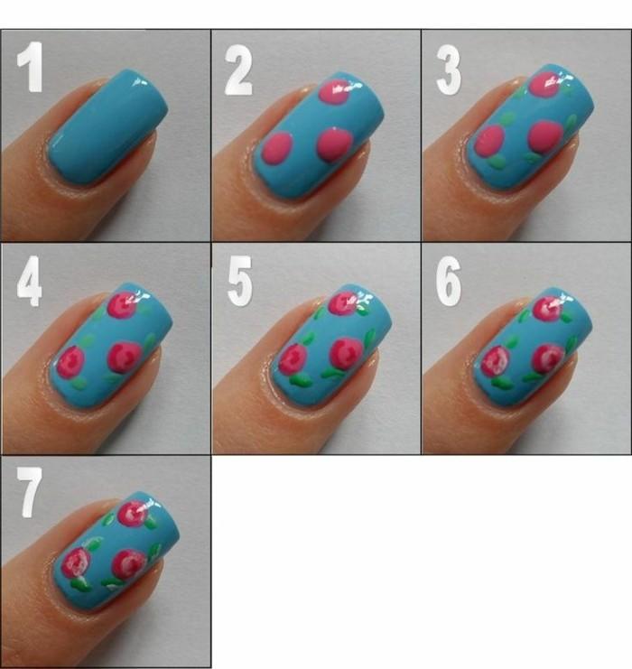 Step By Step Nail Art Using Tape: 93 Idées Pour Faire Le Meilleur Dessin Ongle Facile Et