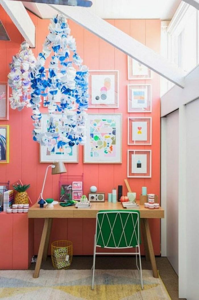 Chambre mur fonce ~ Design de maison
