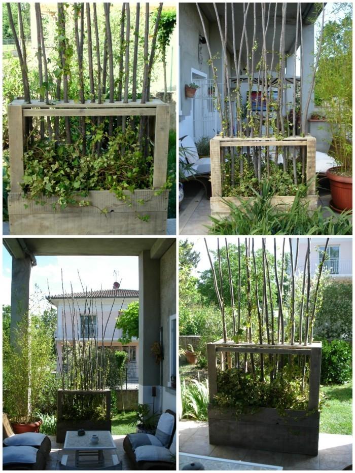 Paravent de jardin Plus de 50 idées orginales!