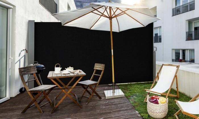 Paravent de jardin plus de 50 id es orginales - Ikea salon exterieur ...