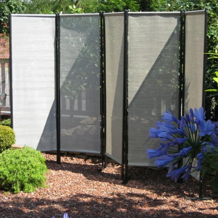 paravent de jardin plus de 50 id es orginales. Black Bedroom Furniture Sets. Home Design Ideas