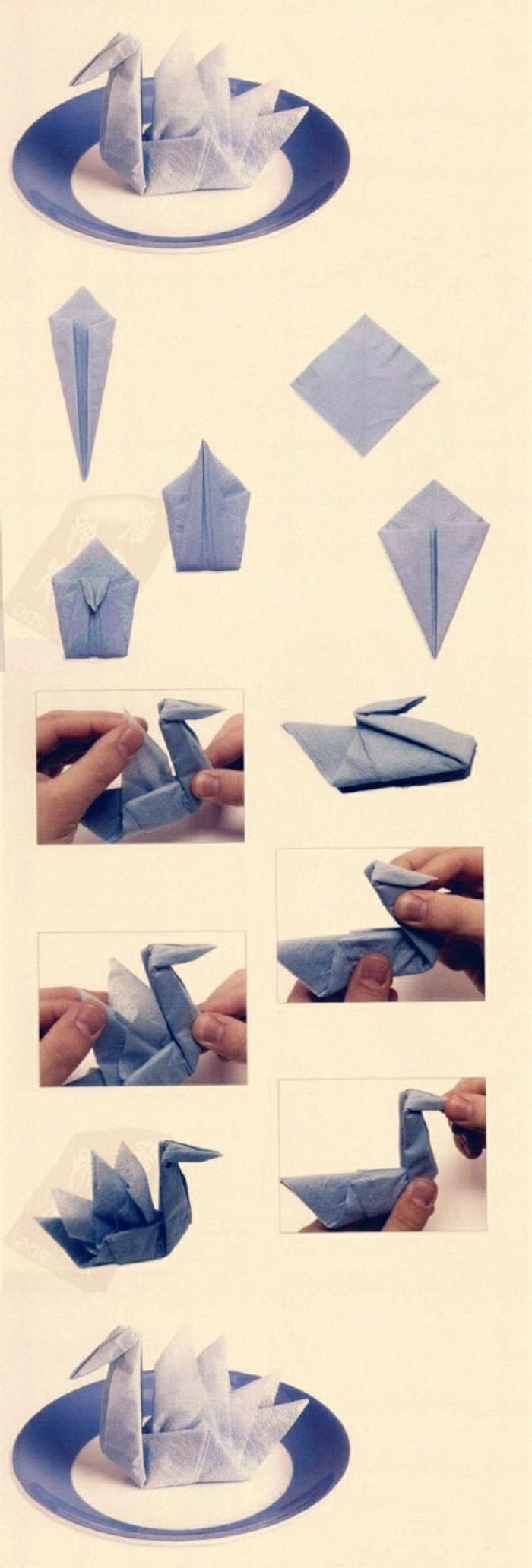 pliage-serviette-simple-etapes