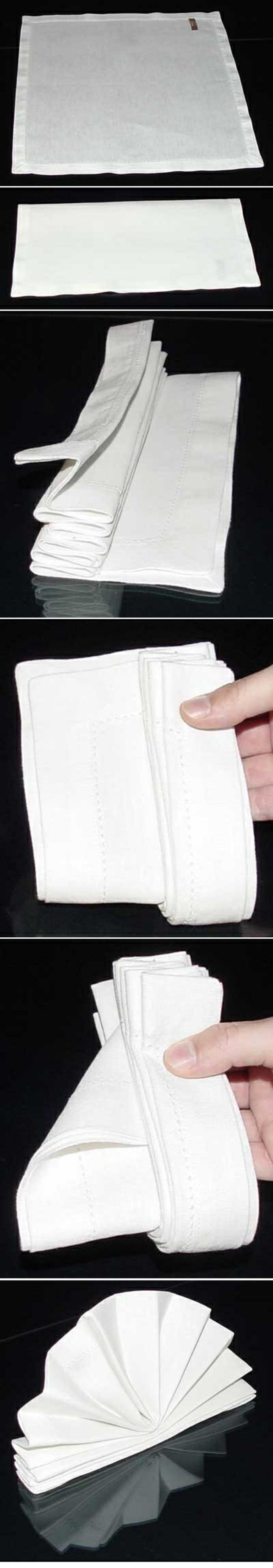 pliage-serviette-simple-instructions