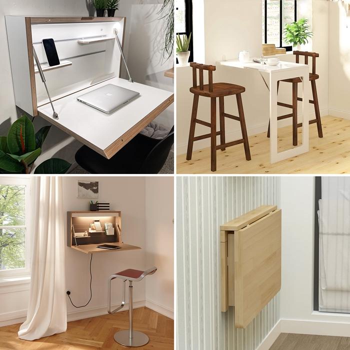 quel type de table astucieuse choisir meuble gain place deco fonctionnelle mobilier moderne amenagement petit espace
