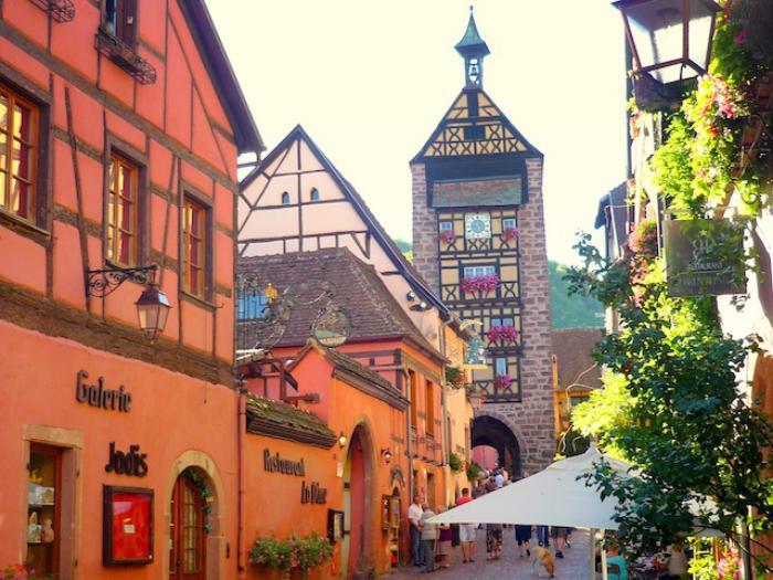 route-des-vins-d'Alsace-Riquewihr