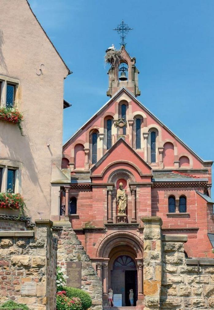 route-des-vins-d'Alsace-architecture-authentique-d'Alsace