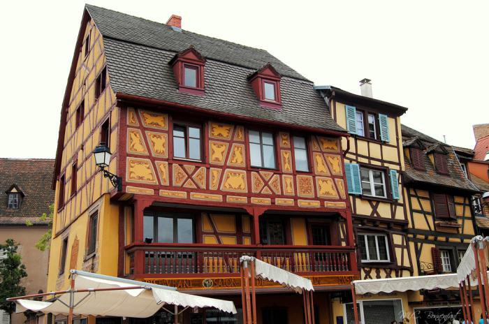 route-des-vins-d'Alsace-maison-alsacienne