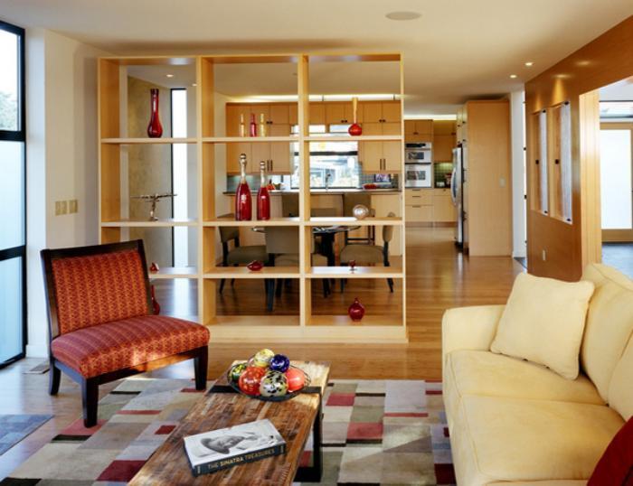 séparation-de-pièce-étagère-cubique-appartement-élégant