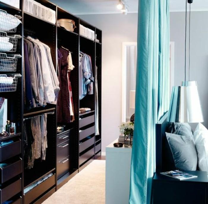 la s paration de pi ce amovible optez pour un rideau. Black Bedroom Furniture Sets. Home Design Ideas