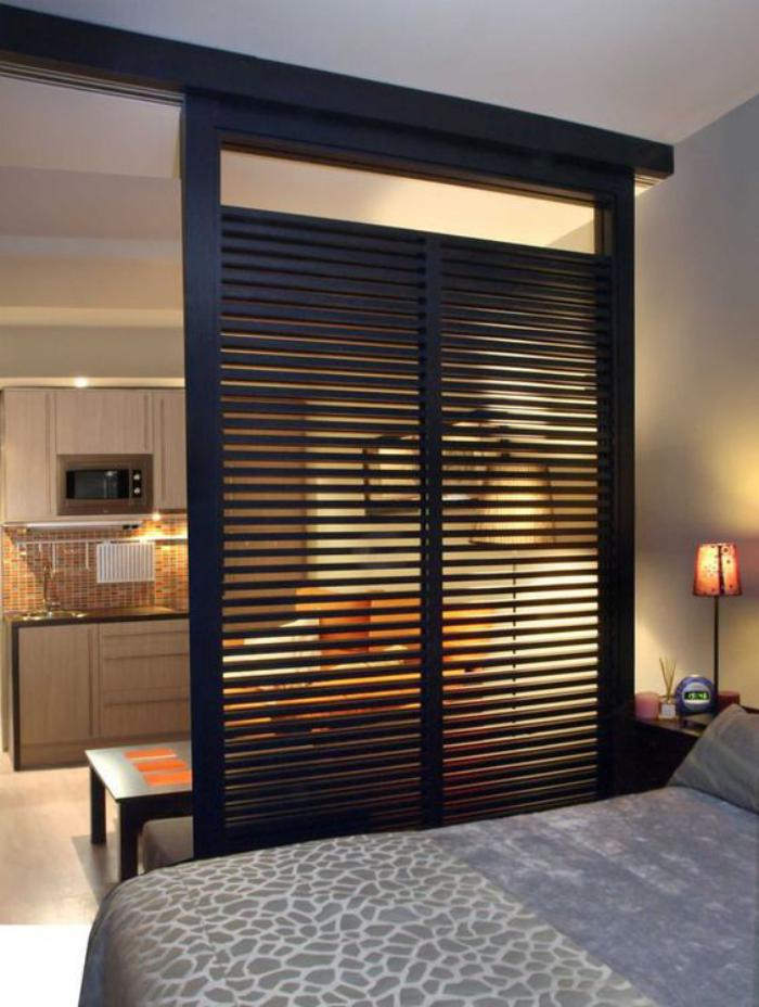 la s paration de pi ce en 83 photos inspiratrices. Black Bedroom Furniture Sets. Home Design Ideas