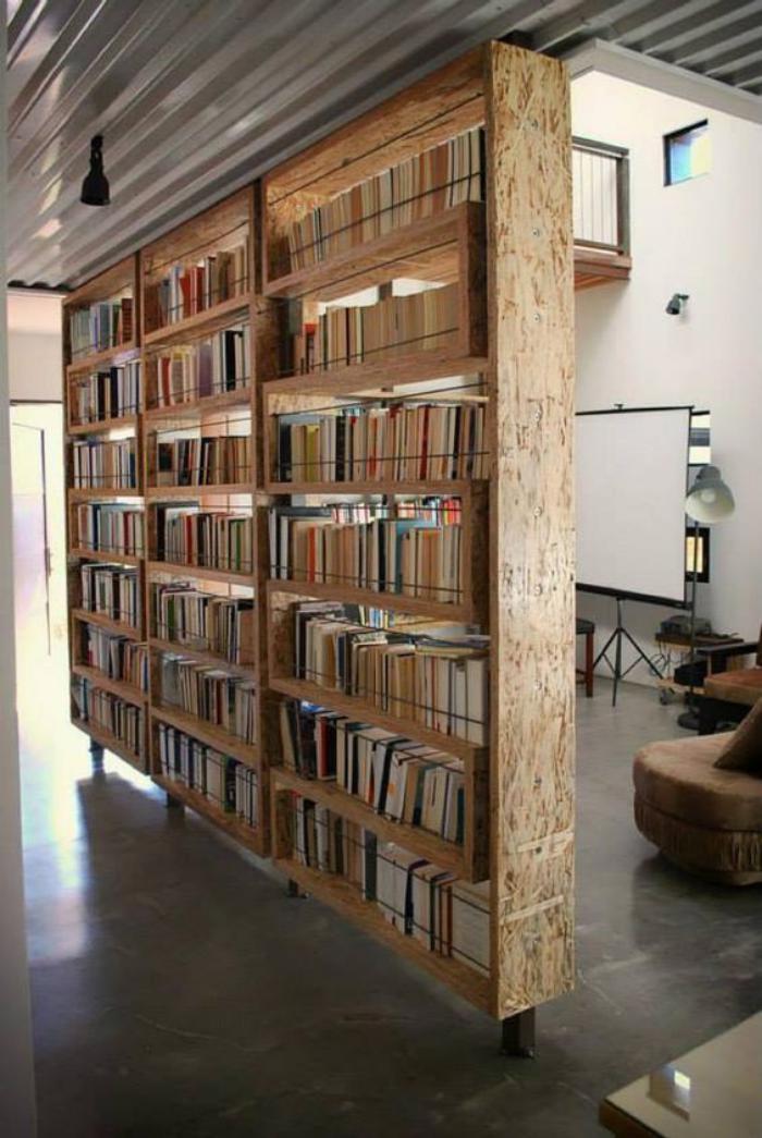 séparation-de-pièce-meuble-séparateur-bibliothèque
