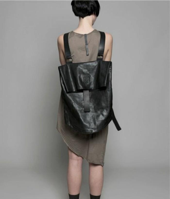 sac-a-dos-cuir-noir-tendances-chez-les-sac-femme-en-cuir-noir-robe-beige-mi-longue-femme