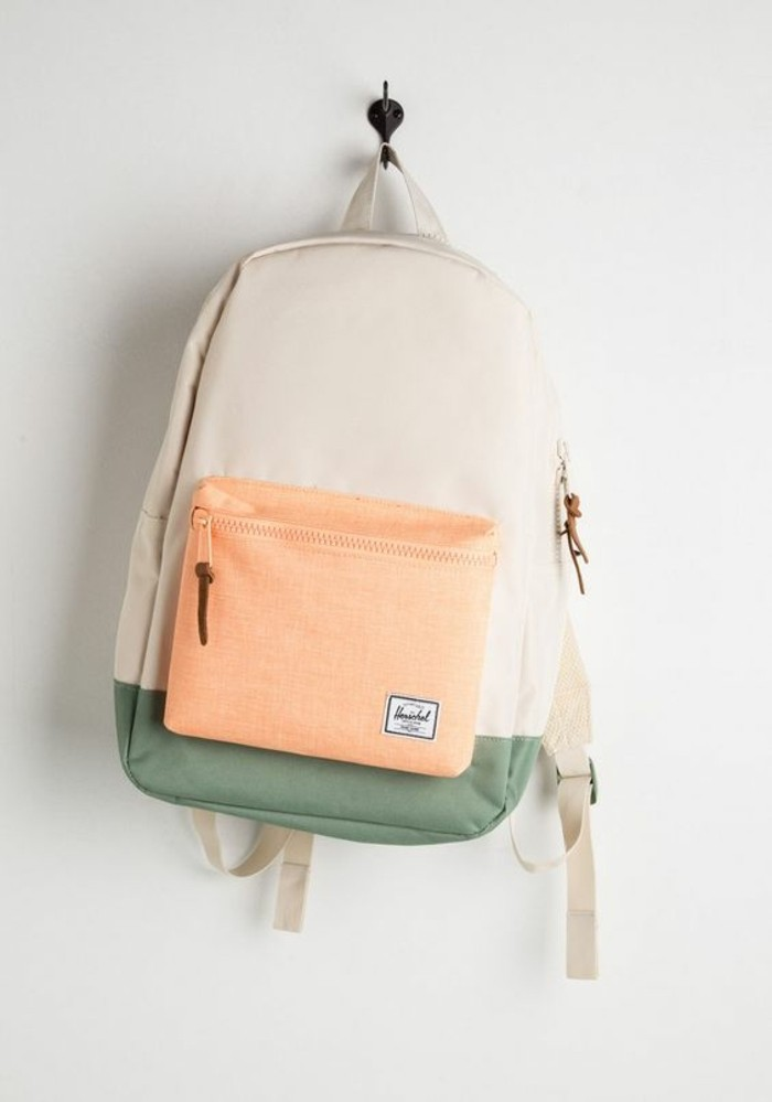 sac-a-dos-pas-cher-beige-rose-pale-vert-sac-a-dos-college-fille