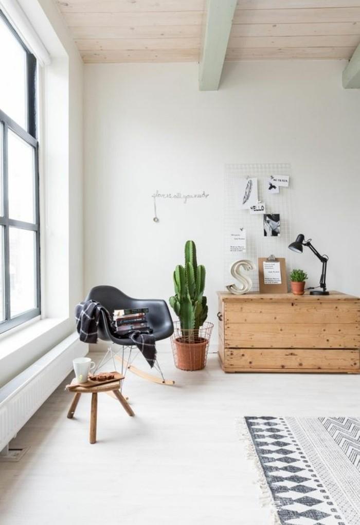 ... Ordinaire Comment Decorer Un Appartement Blanc #6:  Salon Chic Couleur Lin ... Bonnes Idees