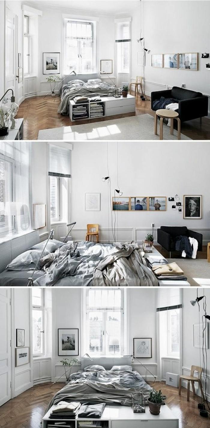 sol-en-parquet-murs-blancs-tapis-beige-studio-chic-avec-grande-lit-deux-personnes