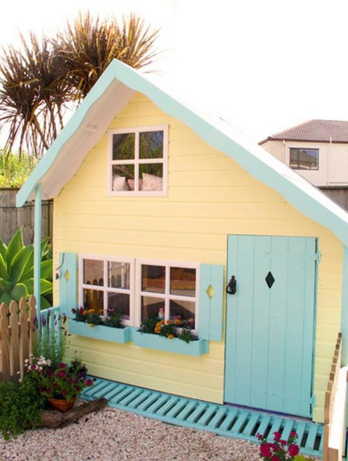 superbe-cabane-de-jardin-en-bois-pour-enfants-jaune-maison-cool