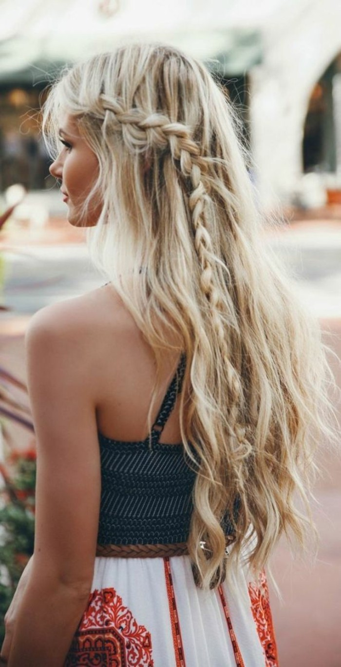 superbe-coifure-tresse-simple-modele-coiffure-beach-hair