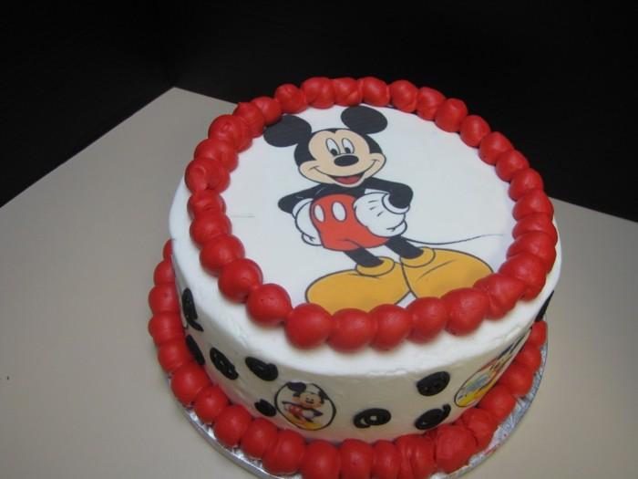 superbe gateau anniversaire garcon ide mockey mouse