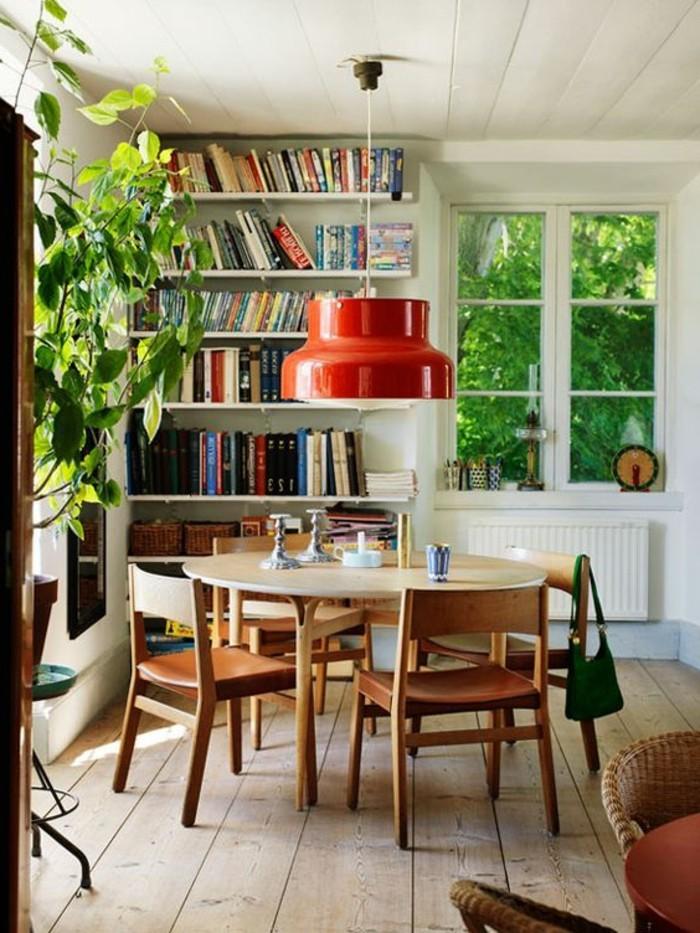 La plus originale table de cuisine ronde en 56 photos for Sejour salle a manger pas cher