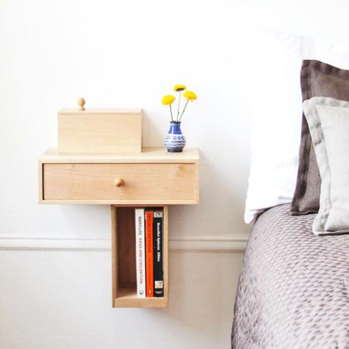 table-gain-de-place-petit-chevet-en-bois-pour-chambre-à-coucher