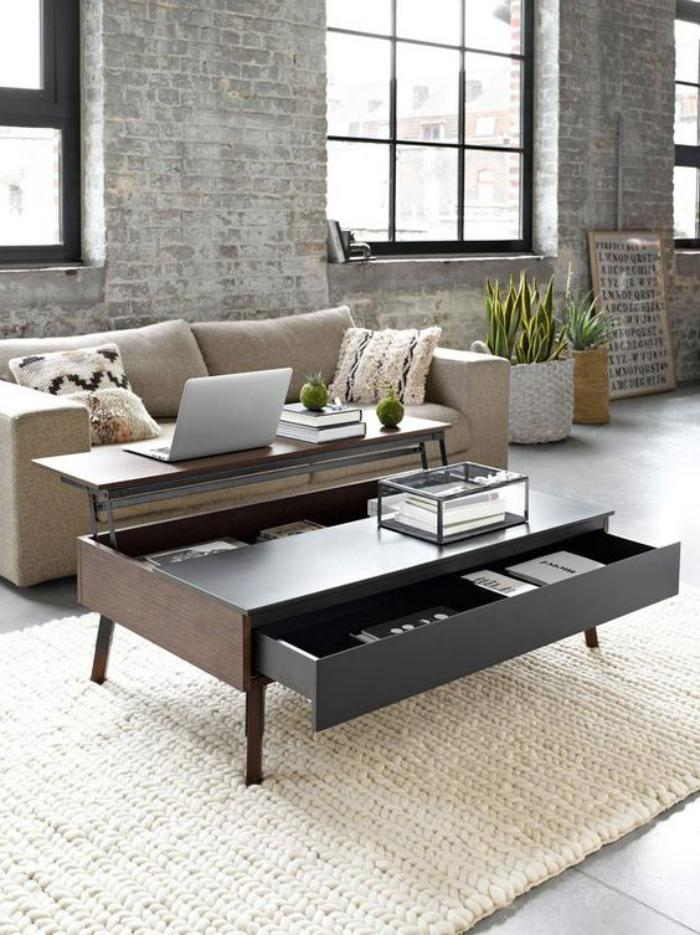 63 mod les originaux de table gain de place. Black Bedroom Furniture Sets. Home Design Ideas