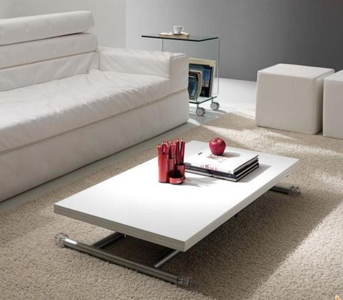 63 mod les originaux de table gain de place - Table basse relevable ...