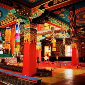 Temple bouddhiste - centre de sagesse et de paix intérieure