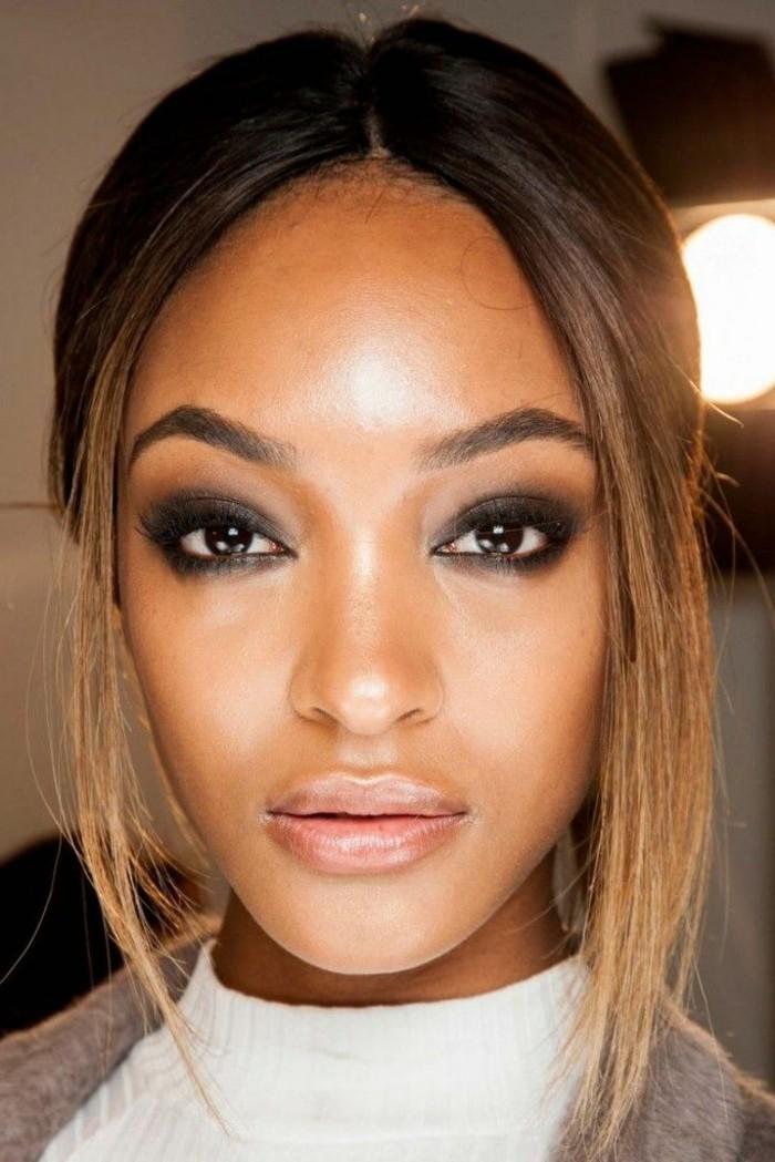 tenue-maquillage-yeux-soirée-make-up-soirée