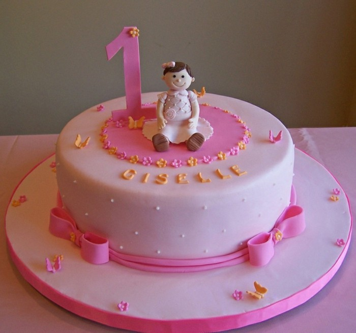 decoration gateau d'anniversaire fille
